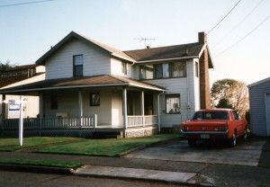 Our Seattle Home–November 1993