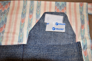 Velcro ready to sew on pocket