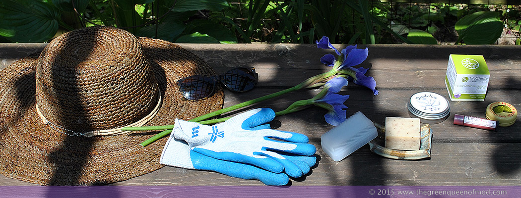 An array of items to help gardeners